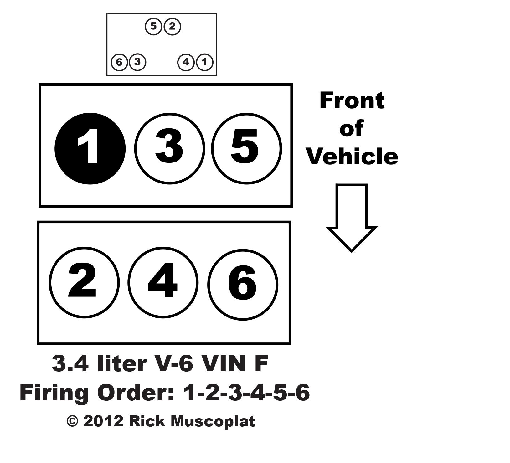 3 4 V 6 Vin F Firing Order