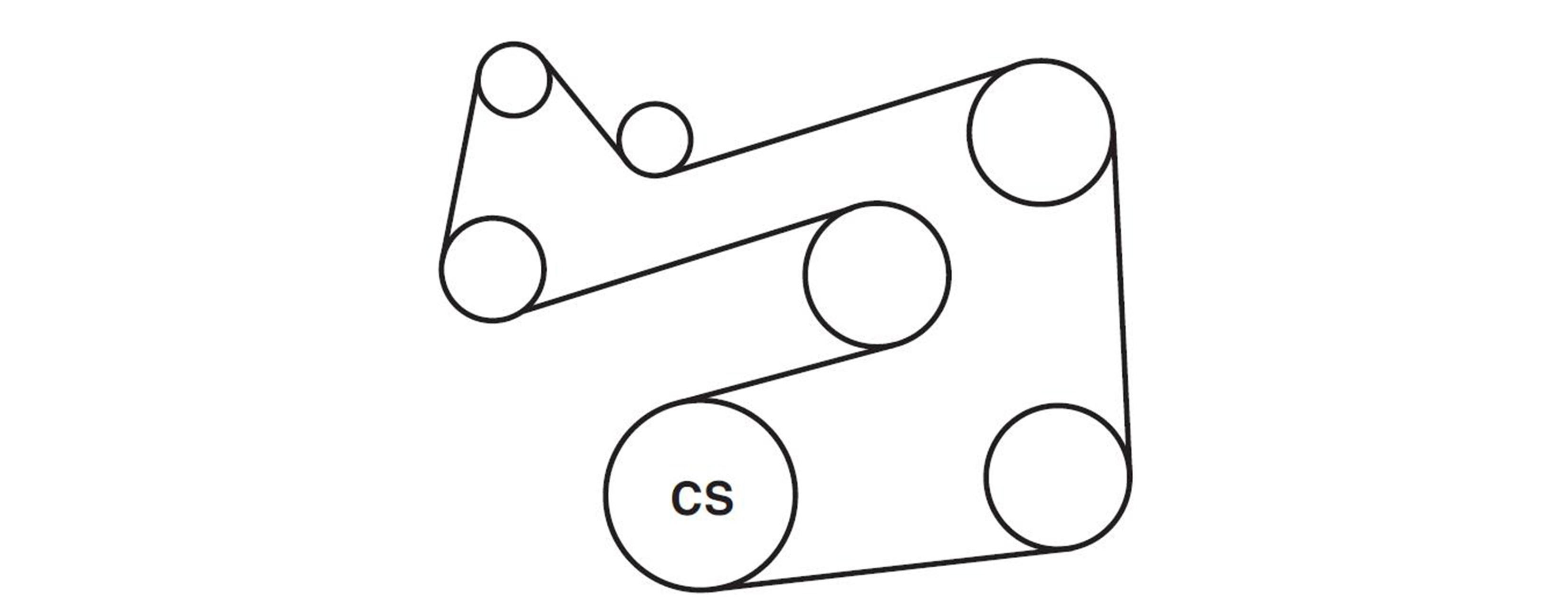 Ford Escort Zx2 Serpentine Belt Diagram