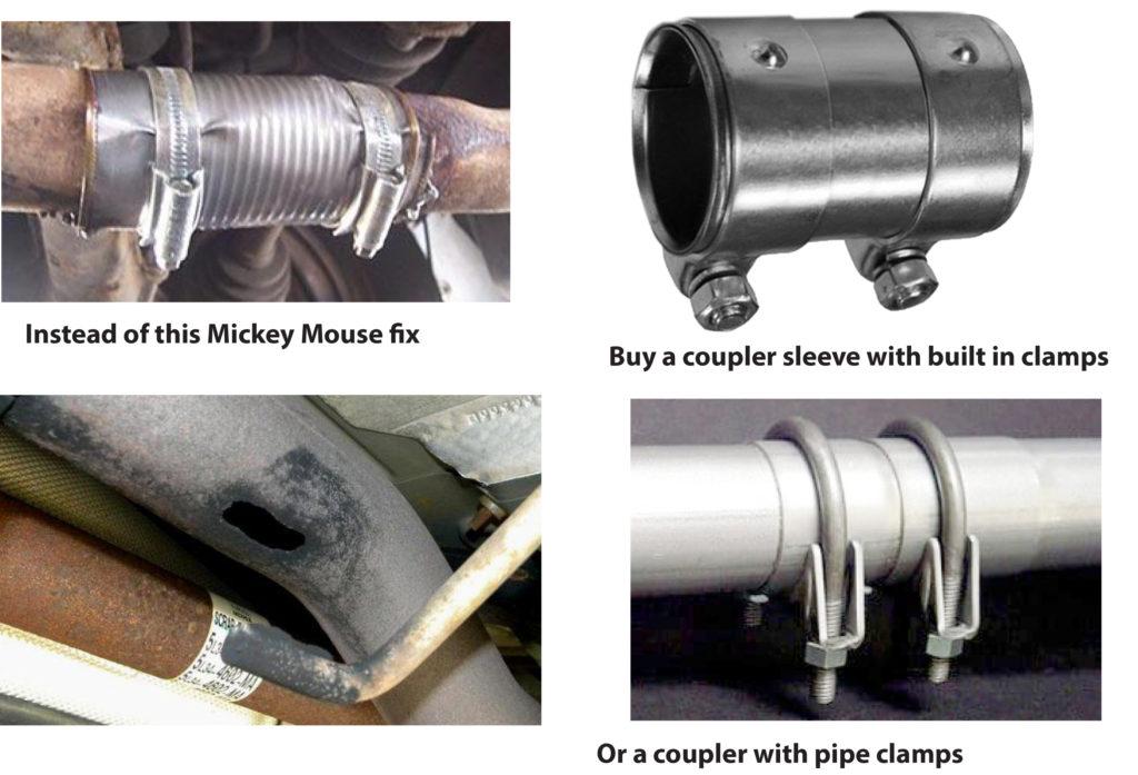 fix exhaust leak ricks free auto