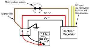 Recitifer Regulator Signal Wires – Rick's Motorsport Electrics Blog and more