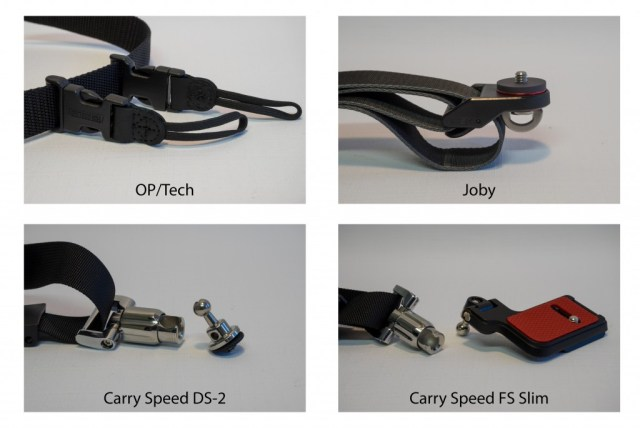 OP/Tech Utility Sling Strap, Joby UltraFit Sling Strap, Carry Speed DS-2 Prime and Carry Speed FS-Slim Review