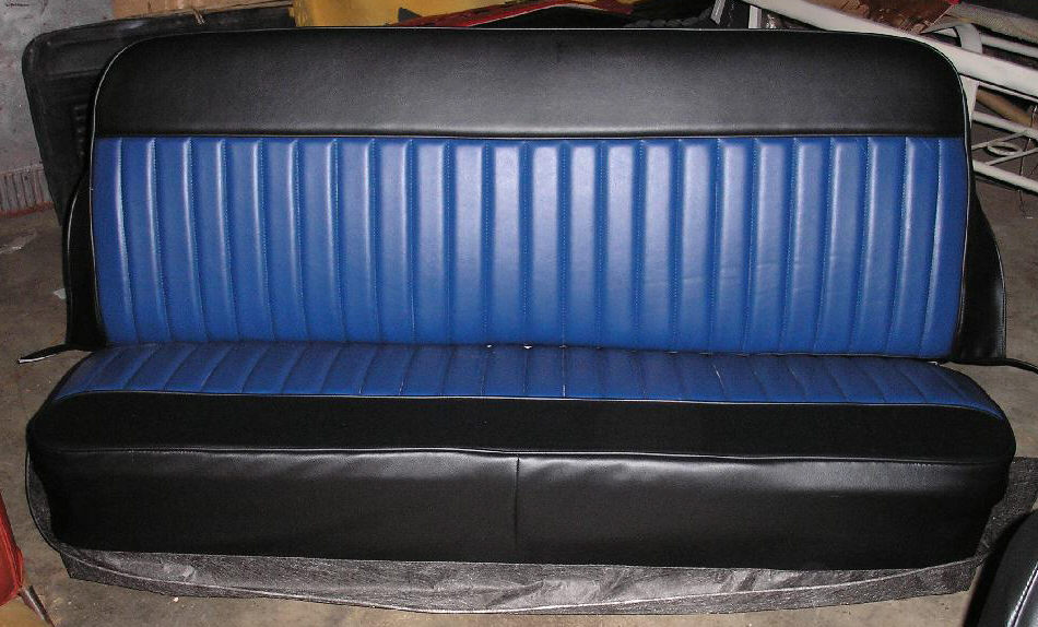 Roadster Bench Truck Seat Covers Rick S Custom Upholstery