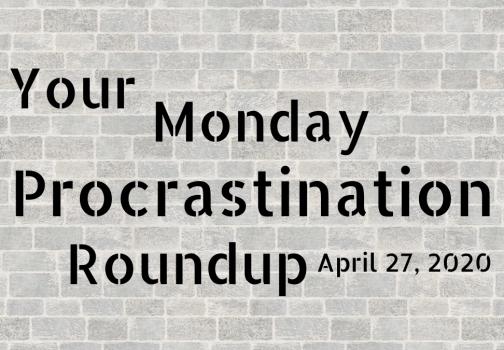 Monday procrastination roundup: Plot versus character