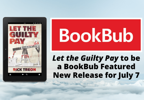 Let the Guilty Pay accepted as BookBub Featured New Release