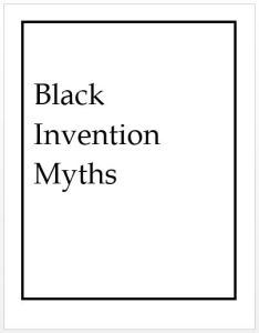 Black Invention Myths cover