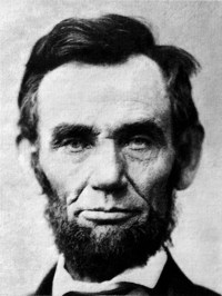 Abraham Lincoln 1809 - 1865 16th President of the United States