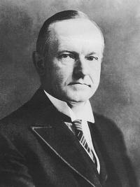 Calvin Coolidge 1872 - 1933 30th President of the United States
