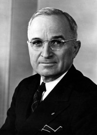 Harry Truman 1884 - 1972 33rd President of the United States
