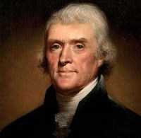Thomas Jefferson 1743 - 1826 3rd President of the United States