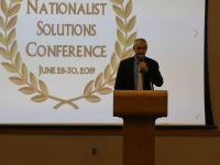 Nicholas Glasnovic Addresses the 2019 Nationalist Solutions Conference