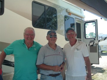 Rick Hammersley in Colorado with brothers Don & Ron Hammersley