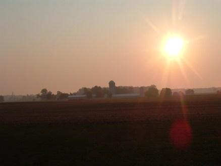 Sun Set in Ohio