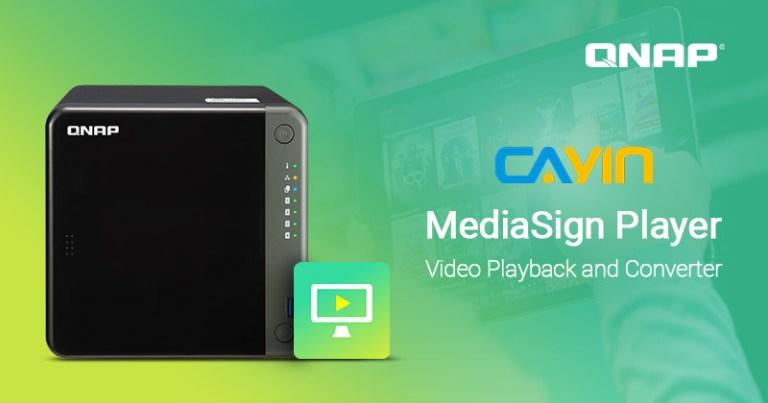 QNAP se une a CAYIN para lanzar MediaSign Player