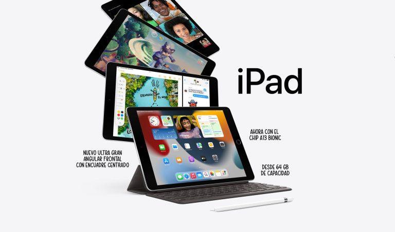 Apple presenta el iPad más económico de 10,2 pulgadas