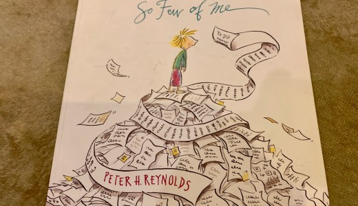 洋書レビュー So Few of Me by Peter H. Reynolds