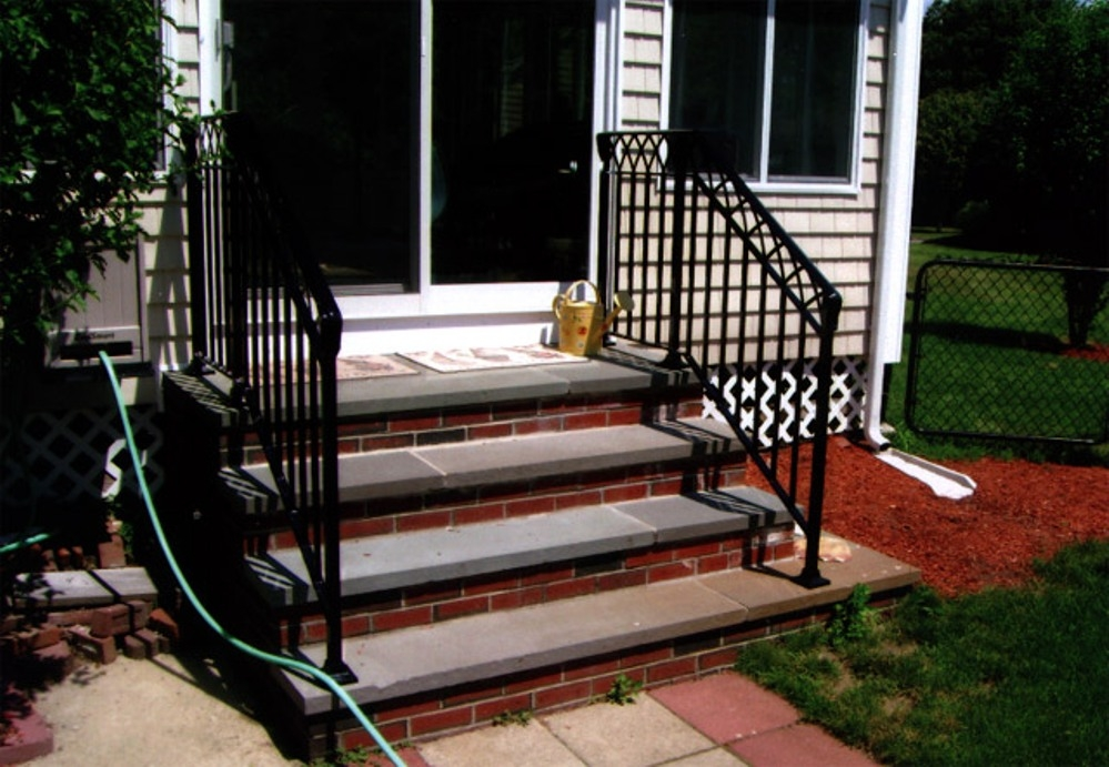 Railings For Outdoor Stairs At Home Depot — Rickyhil | Home Depot Outdoor Stairs