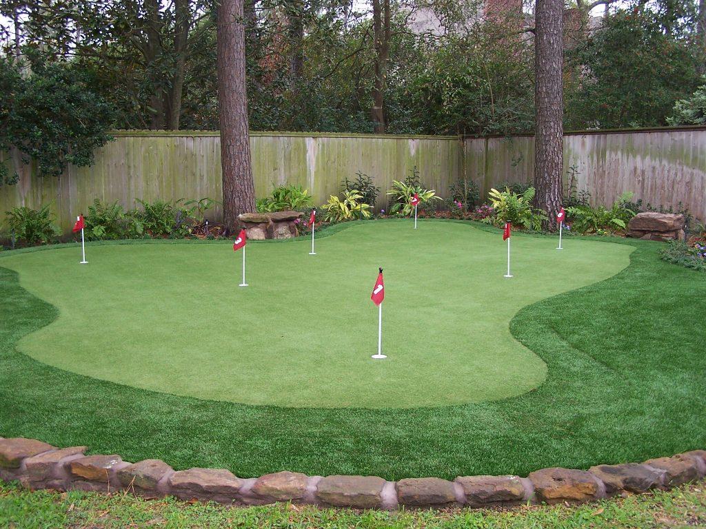 DIY Backyard Putting Greens — Rickyhil Outdoor Ideas on Putting Green Ideas For Backyard id=43726