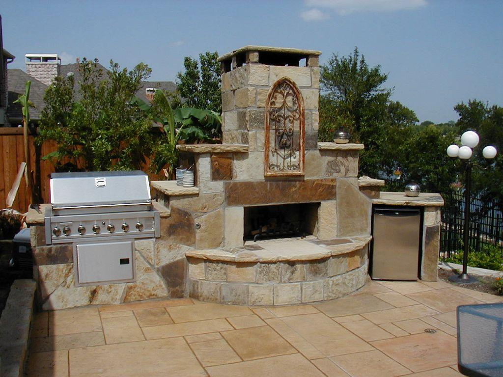 Ideas For Build Cinder Block Outdoor Fireplace — Rickyhil ... on Outdoor Fireplace With Cinder Blocks id=71466