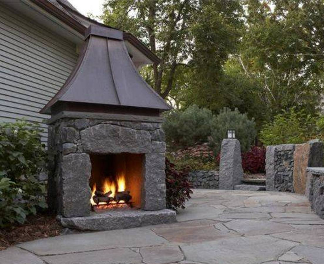 Affordable Outdoor Metal Fireplace — Rickyhil Outdoor Ideas on Quillen Steel Outdoor Fireplace id=59127
