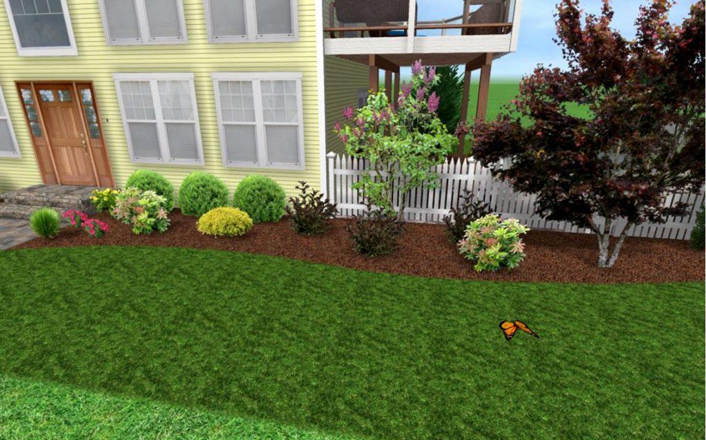 Low Maintenance Landscaping Ideas Front Yard : Rickyhil ... on Low Maintenance Backyard Design  id=72460