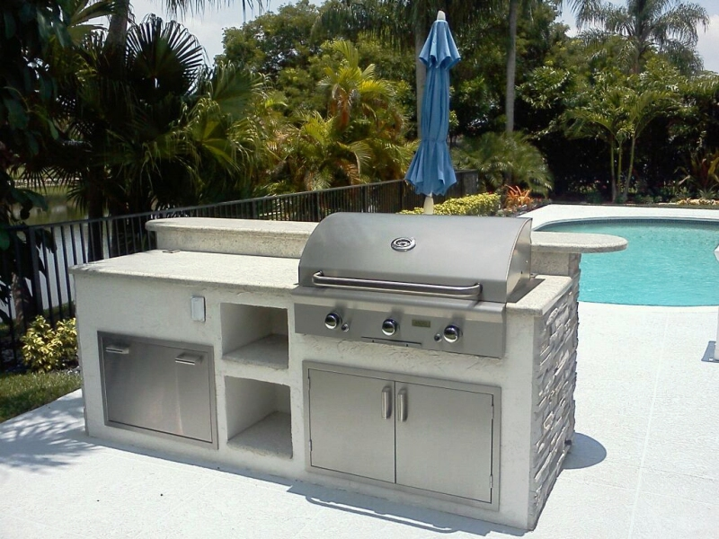 Outdoor Built In Grills Functional Area — Rickyhil Outdoor ... on Built In Grill Backyard id=54208
