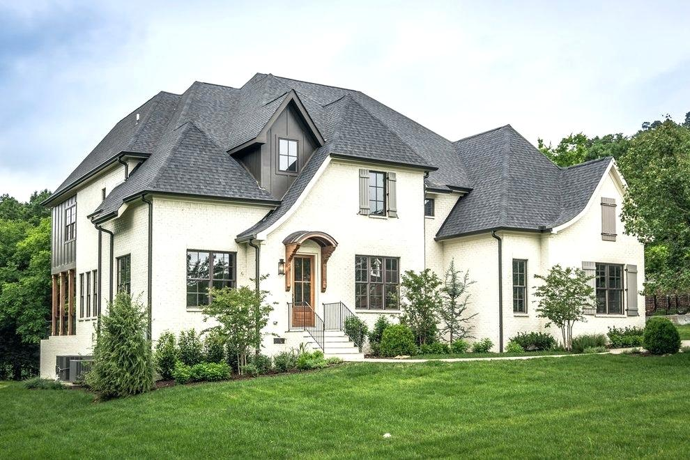 Painted Brick House Cost You Should Know About — Rickyhil ... on Brick House Painting Ideas  id=60125