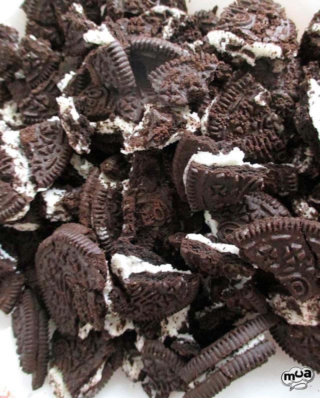 Tarta helada Oreo