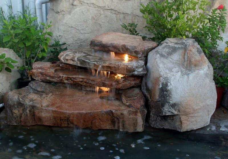 Diy Backyard Pond Waterfall