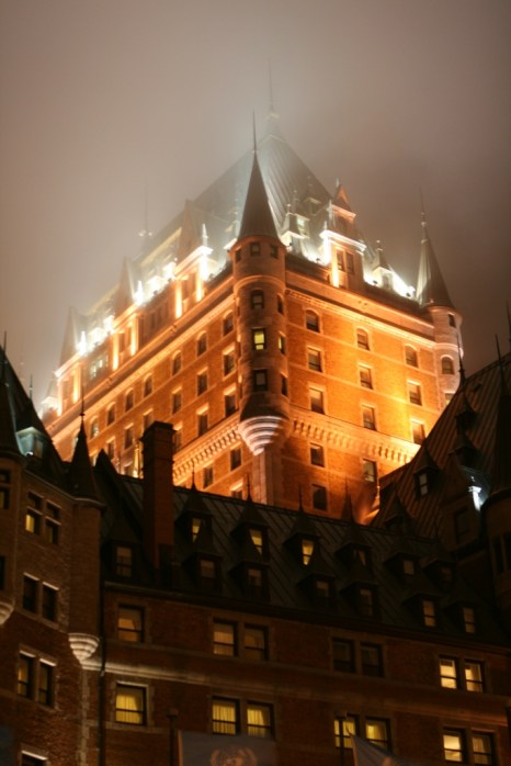 Chateau Frontenac by night