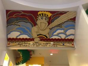 Lego store at Rockfeller Center