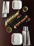 Green Dragon Roll & Spicy Maple Roll