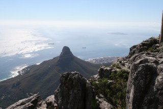 Lion's Head from Table Mountain