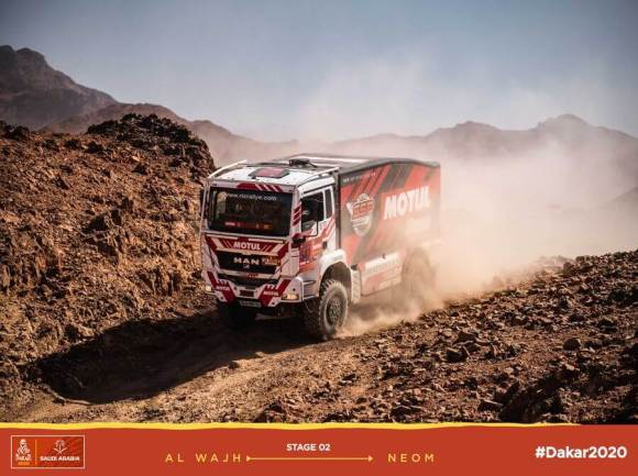 Leg2 Dakar 2020 Sylvain Besnard - MAN #547