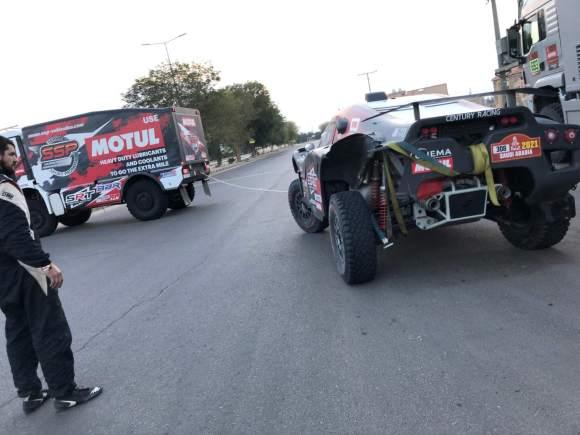 Intervations RicRallye - Dakar 2021