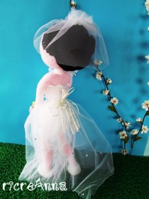 sposa amigurumi uncinetto (17)