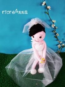 sposa amigurumi uncinetto (20)
