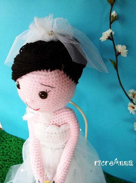 sposa amigurumi uncinetto (27)