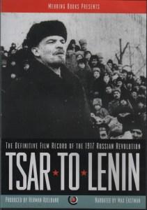 Tsar to Lenin Cover
