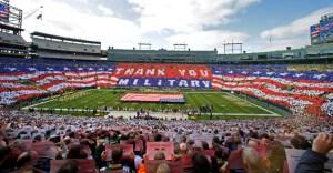 NFL Militarism