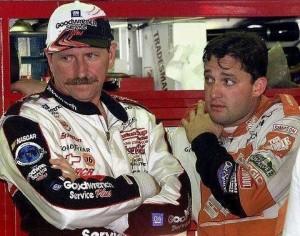 Dale Earnhardt Sr & Tony Stewart