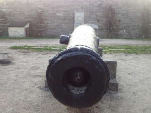 Cannon loaded at Castillo de San Marcos