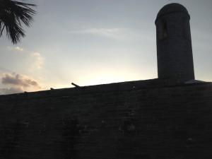 Sunset Castillo de San Marcos
