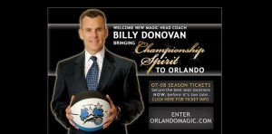 Billy Donovan Magic