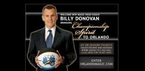 Billy Donovan Magic
