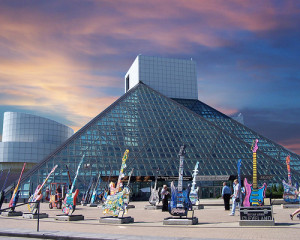 Rock & Roll Hall of Fame: Cleveland OH