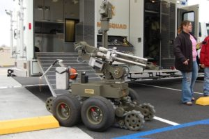 LA County Sheriff Bomb Robot