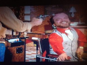 Norris Interrogates Handicapped Dwarf