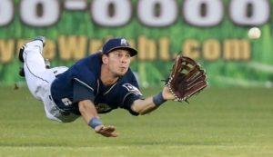 CF Travis Jankowski: Padres AA