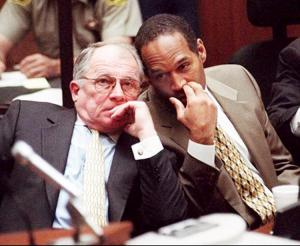 F Lee Bailey & OJ Simpson