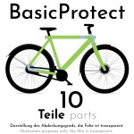 Frame protection film for VANMOOF S3 – BasicProtect